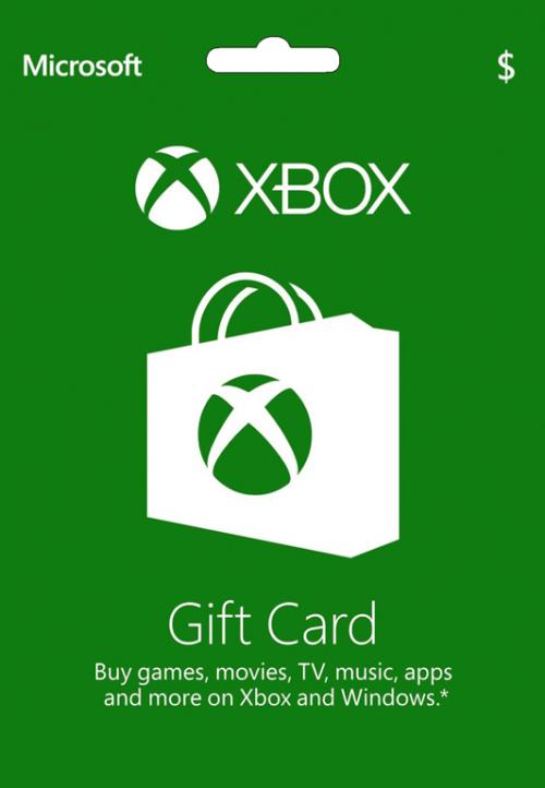 گیفت کارت ایکس باکس آمریکا Xbox Gift Card USA